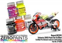 Repsol RC211V Valencia '03 Paint Set 5x30ml