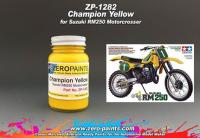 Suzuki Champion Yellow RM250 Motocrosser Bike (Tamiya) - 60ml
