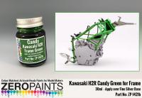 Kawasaki H2R Frame Candy Green Paint 30ml
