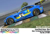 Mercedes AMG GT3 Team Black Falcon Blue Paint 60ml