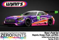 Wynn's Sponsor Paint Set 4x30ml  (Magenta, Purple, Orange and White)