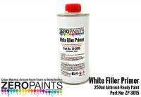 White Airbrushing Primer/Micro Filler 250ml