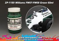 Williams FW07-FW08 Green Paint 60ml