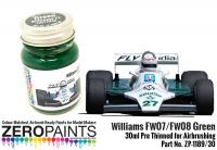 Williams FW07-FW08 Green Paint 30ml
