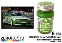 Green BMW M3 E30 Tic Tac Valier Motorsport 60ml