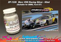 Marc VDS Racing Silver Paint (Ford GT) - 60ml