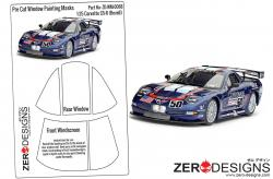 1:25 Corvette C5-R Pre Cut Window Painting Masks (Revell)