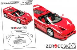 1:24 Ferrari F50 Pre Cut Window Painting Masks (Tamiya)