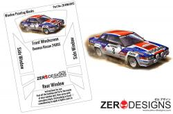 1:24 Nissan 240RS (BS110) Rally Window Painting Masks (Beemax)