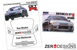 1:24 Nissan Skyline R32 GT-R Pre Cut Window Painting Masks (Fujimi)