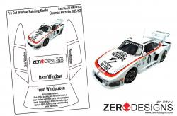 1:24 Porsche Kremer 935 K3 Pre Cut Window Painting Masks (Beemax)