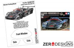 1:24 Sauber Mercedes C9 Window Painting Masks (Tamiya)