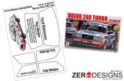 1:24 Volvo 240 Turbo Pre Cut Window Painting Masks (Beemax)
