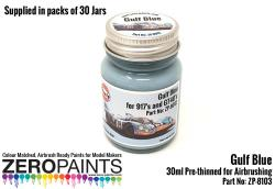 30ml Gulf Blue - Bulk Pack 30 Jars