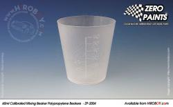 60ml Calibrated Measuring/Mixing Beakers