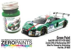 Audi R8 LMS GT3 #29 ADAC Zurich 24h of Nurburgring 2017 Green Paint - 30ml