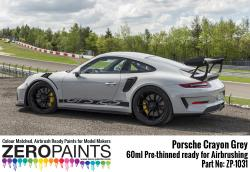 Porsche 911 GT3 RS Crayon Grey Paint 60ml
