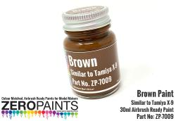 Brown Paint 30ml - Similar to Tamiya X-9