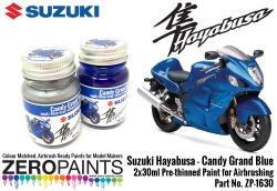 Suzuki Hayabusa - Candy Grand Blue Paint Set 2x30ml