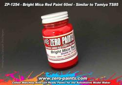 Bright Mica Red Paint (Similar to Tamiya TS85) 60ml