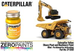 Caterpillar Yellow (Heavy Plant and Machinery) Paint 60ml