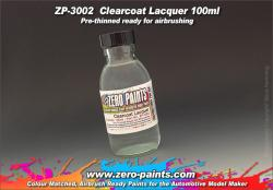 Clearcoat Lacquer 100ml - Pre-thinned ready for Airbrushing