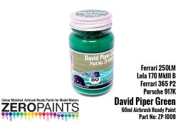 David Piper BP Green 60ml (Ferrari 250LM, Lola T70 MkIII, Ferrari 365 P2 and Porsche 917K.)