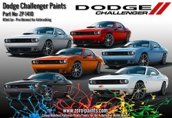 Dodge Challenger Colour Matched Paints 60ml