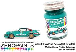 Valliant Green Paint Porsche 934 Turbo RSR 30ml