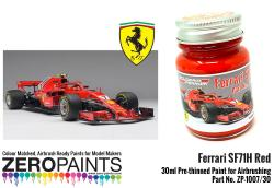 Ferrari SF71H (2018 Formula One) Red Paint 30ml