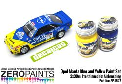 Opel Manta - Blue and Yellow Paint Set 2x30ml