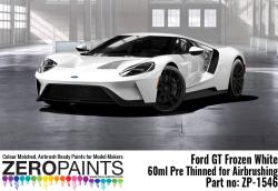 Ford GT Frozen White Paint 60ml