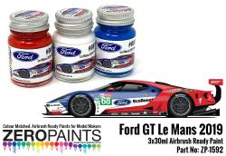 #68 Ford GT Le Mans Paint Set 3x30ml