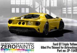 Ford GT Triple Yellow Paint 60ml