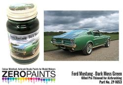 Ford Mustang 1960's - Dark Moss Green Paint 60ml