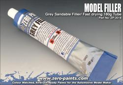 Grey Model Filler / Putty (Fine) 180g