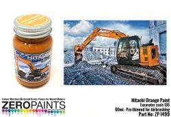 Hitachi Orange Excavator Colour Paint 60ml