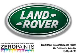 Land Rover Colour Matched Paints 60ml