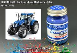 Landini Light Blue Paint 60ml (Farm Equipment)