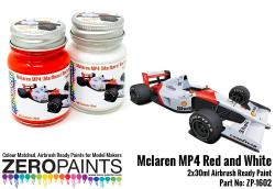Mclaren MP4 (Marlboro) Red and White Paint Set 2x30ml