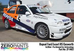 Repsol Ford Escort RS Cosworth Paint Set 4x30ml