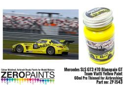Mercedes SLS GT3 #70 Blancpain GT Team Viatti Yellow Paint 60ml