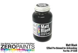 Matt Black Paint 120ml
