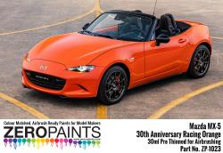Mazda MX-5 30th Anniversary Racing Orange Paint 30ml