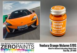 Mclaren 570S Ventura Orange (Pearl) Paint 60ml