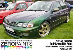 Nissan Primera Mystic Green (Red/Green) Flip Paint 2x30ml