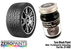 Tyre Black Paint 60ml