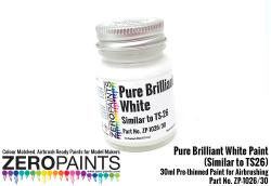 Pure Brilliant White Paint (Similar to TS26) 30ml