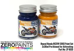 Repsol Honda RC211V 2002 Paint Set 2x30ml