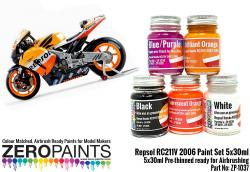 Repsol Honda RC211V 2006 Paint Set 5x30ml